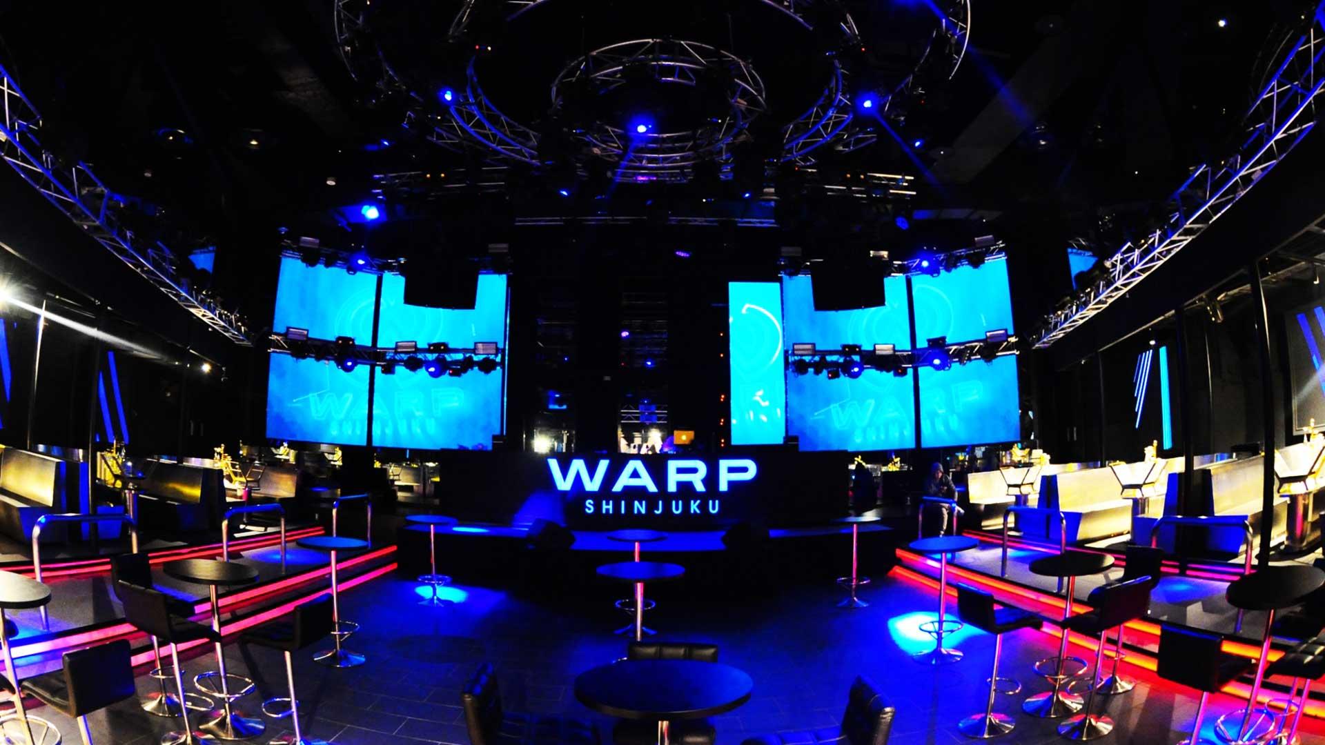 スタッフがWARPでVIPを初体験してみた!